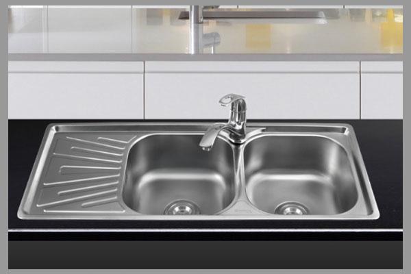 Cách phân biệt chậu rửa bát inox thật giả? 3