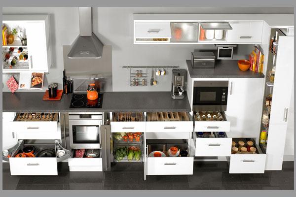 [Tư vấn] phụ kiện tủ bếp gồm những gì? 1