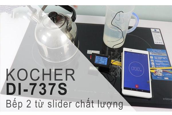 Hình ảnh thực tế bếp từ Kocher DI-737S