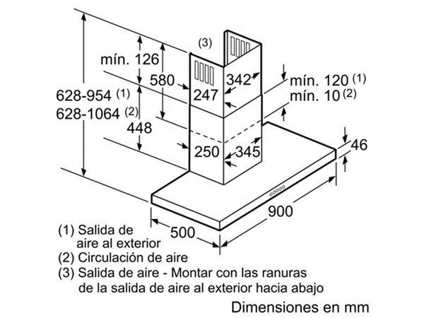 Máy hút mùi Bosch DWB097A50 2