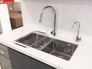 Chậu rửa bát Konox KN7544DUB 4