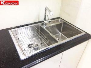 Chậu rửa bát Konox KN7847DO 4