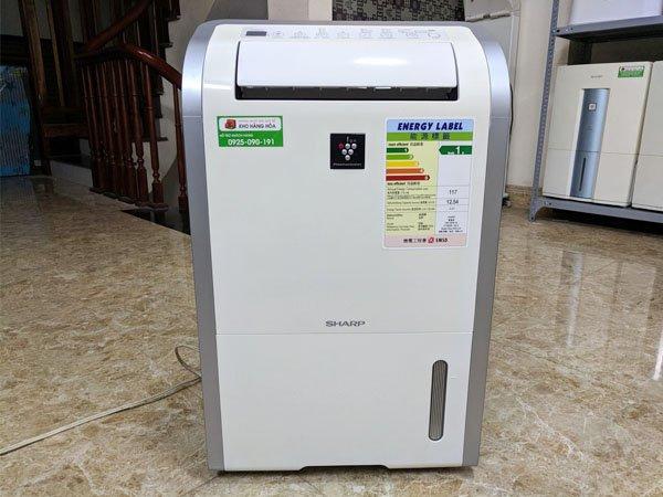 Máy hút ẩm và lọc không khí Sharp DW-D20A-W 2