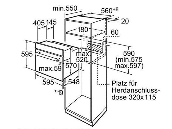 Lò nướng Bosch HBA22B250E 2