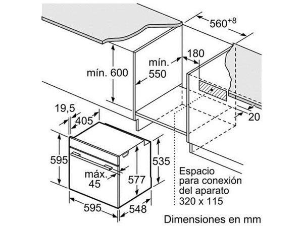 Lò nướng Bosch HBA5780B0 2