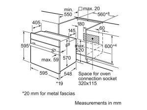 Lò nướng Bosch HBN211E2M 3