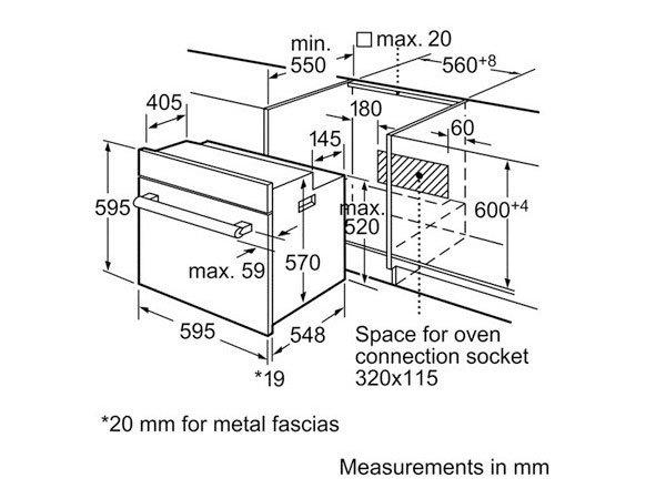 Lò nướng Bosch HBN211E2M 2