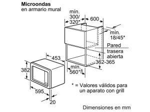 Lò vi sóng Bosch HMT75M664 3