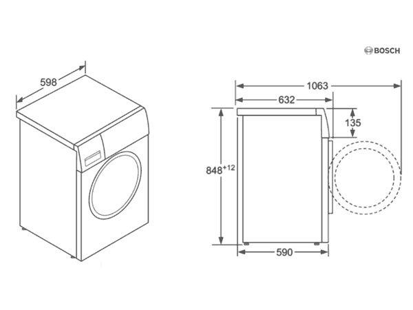 Máy giặt Bosch WAW32640EU 2