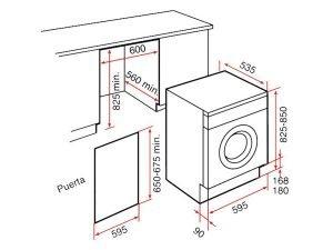 Máy giặt Teka LI2 1260 3