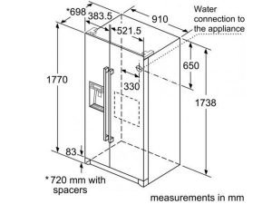 Tủ lạnh Bosch KAG90AI20G 3