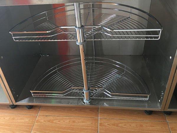 Mâm xoay tủ bếp Edel SJ-750/750A 1