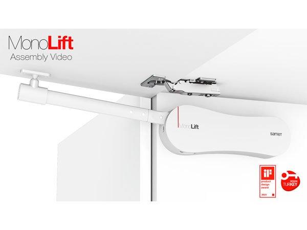 Tay nâng tủ bếp MONOLIFT HF-22 1
