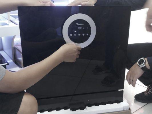 Hình ảnh thực tế máy rửa bát Texgio TG-BI205