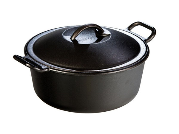 Nồi gang Lodge Cast Iron Pot 1.89L 1