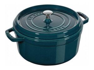 Noi gang Staub Cast Iron Pot 26 Sapphire