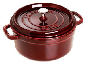 Noi gang Staub Cast Iron Pot 28 red
