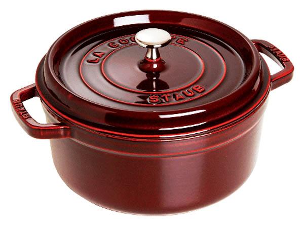 Nồi gang Staub Cast Iron Pot 28 Red 1