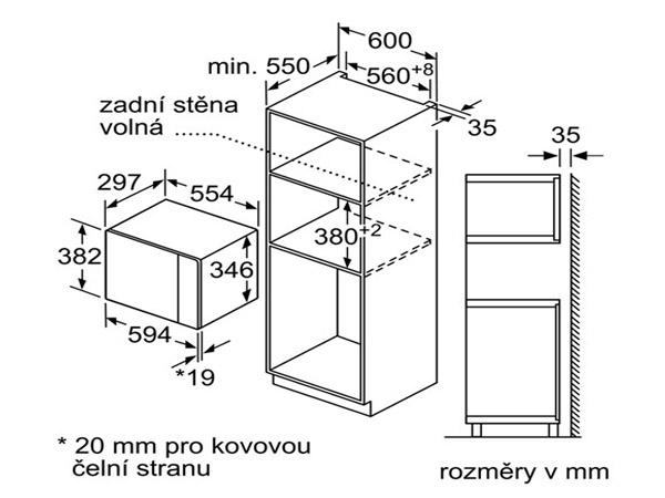 Lò vi sóng âm tủ Bosch BEL520MS0K 2