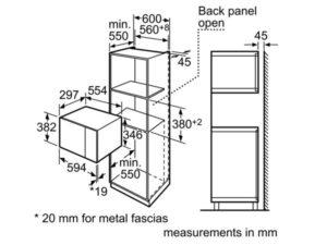Lò vi sóng Bosch HMT75M654B 3