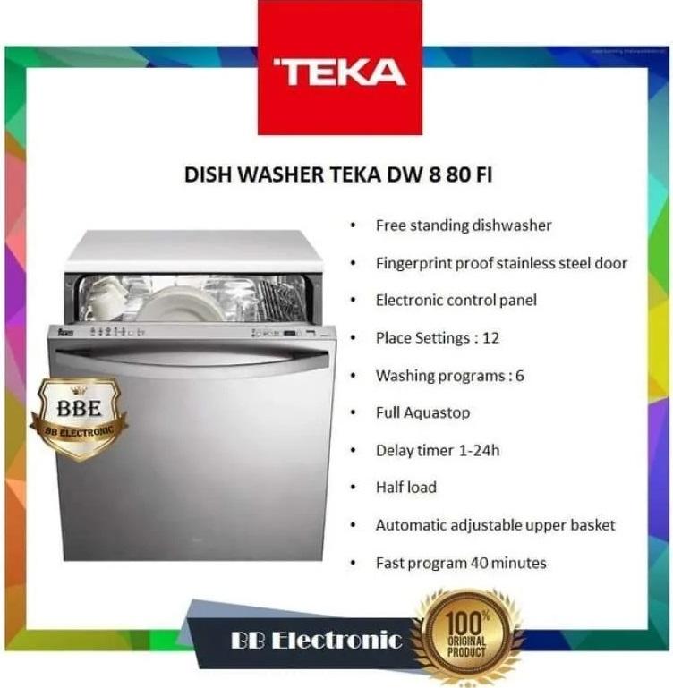 máy rửa chén Teka