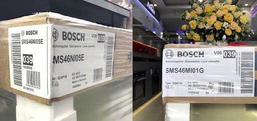 máy rửa chén Bosch nhập khẩu Đức, Tây Ban Nha, Balan