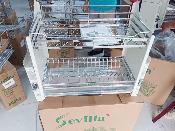 giá bát đĩa nâng hạ Sevilla