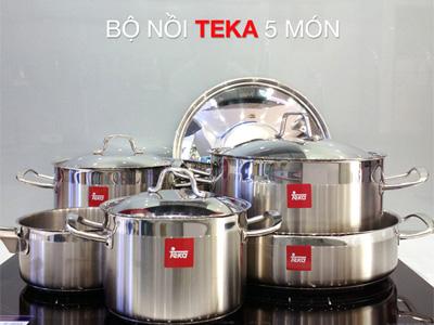 bộ nồi bếp từ Teka