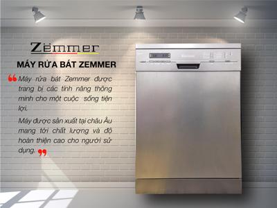 máy rửa chén Zemmer